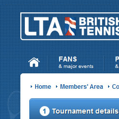 Lawn Tennis Association screenshot